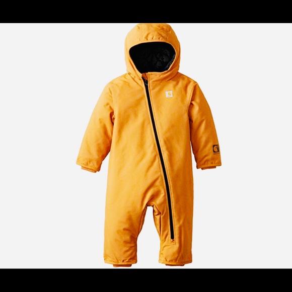 609636857 Carhartt Jackets & Coats | Baby Boys Cib Quick Duck Snowsuit | Poshmark